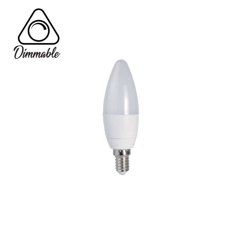 LED LAMP CAP CANDLE E14 DIMM