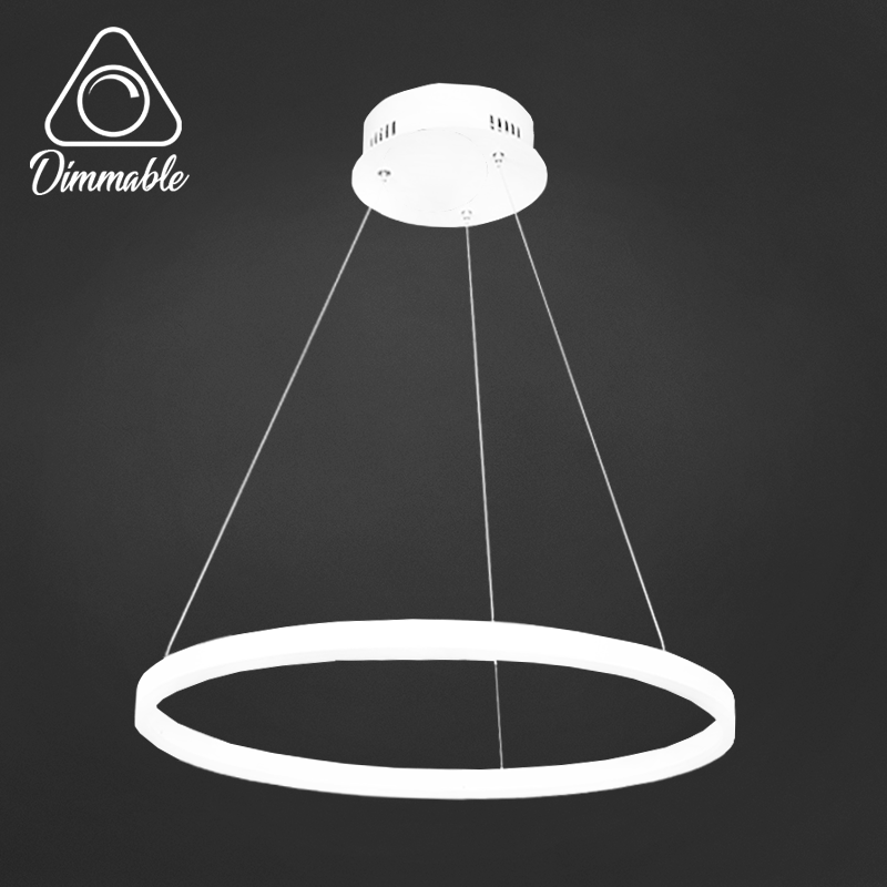LED CHANDELIER 1010 DIMM 1 WHITE