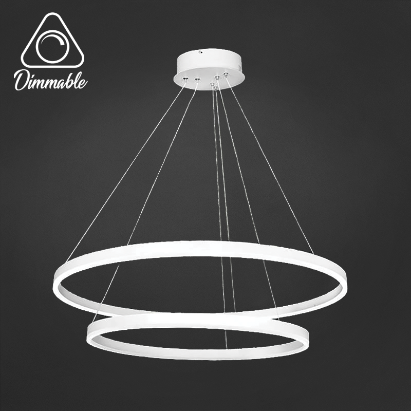 LED CHANDELIER 1010 DIMM 2 WHITE