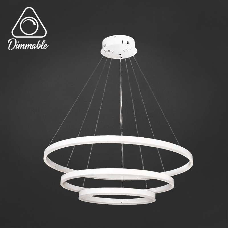 LED CHANDELIER 1010 DIMM 3 WHITE