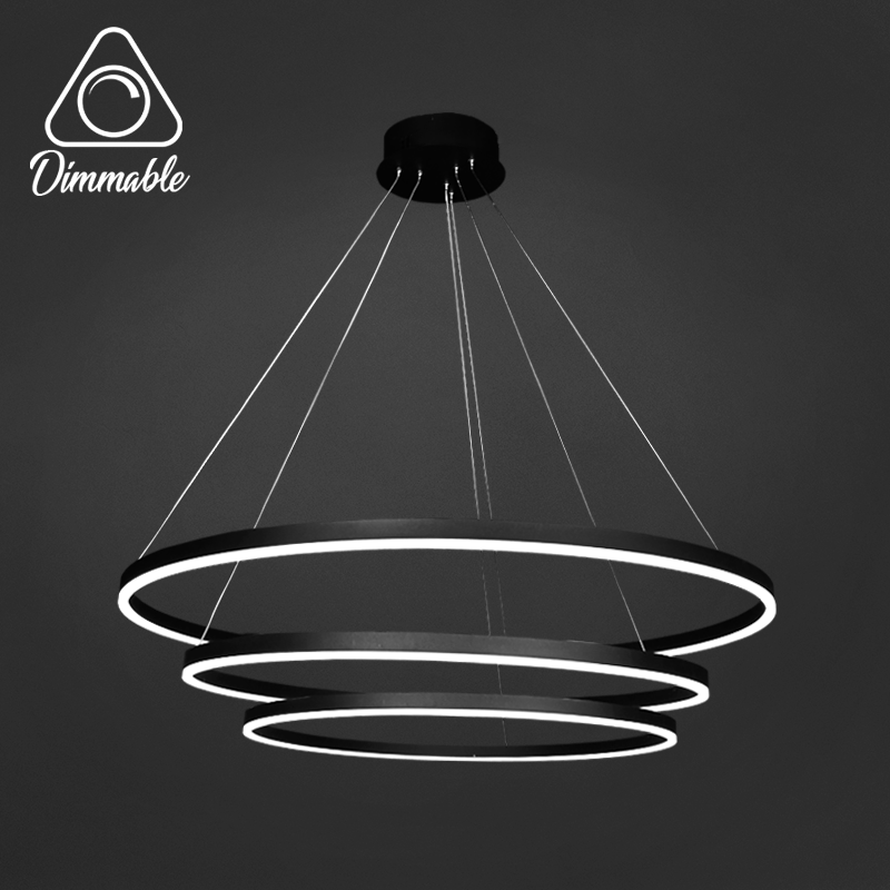 LED CHANDELIER 1010 DIMM 3 Gray