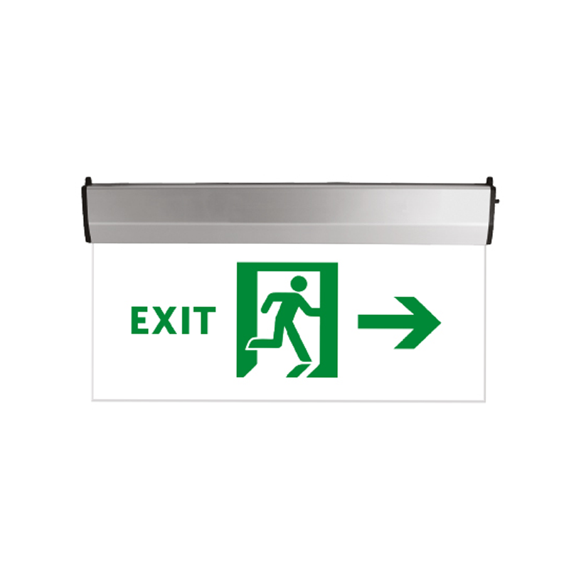LED EMERGENCY LIGHT EXIT GLASS 3W