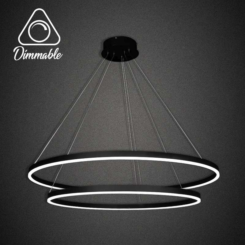 LED CHANDELIER 1010 DIMM 2 GRAY