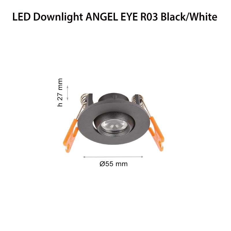 LED ЛУНА ANGEL EYE BLACK
