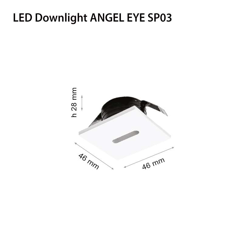 LED ЛУНА ANGEL EYE БЯЛА