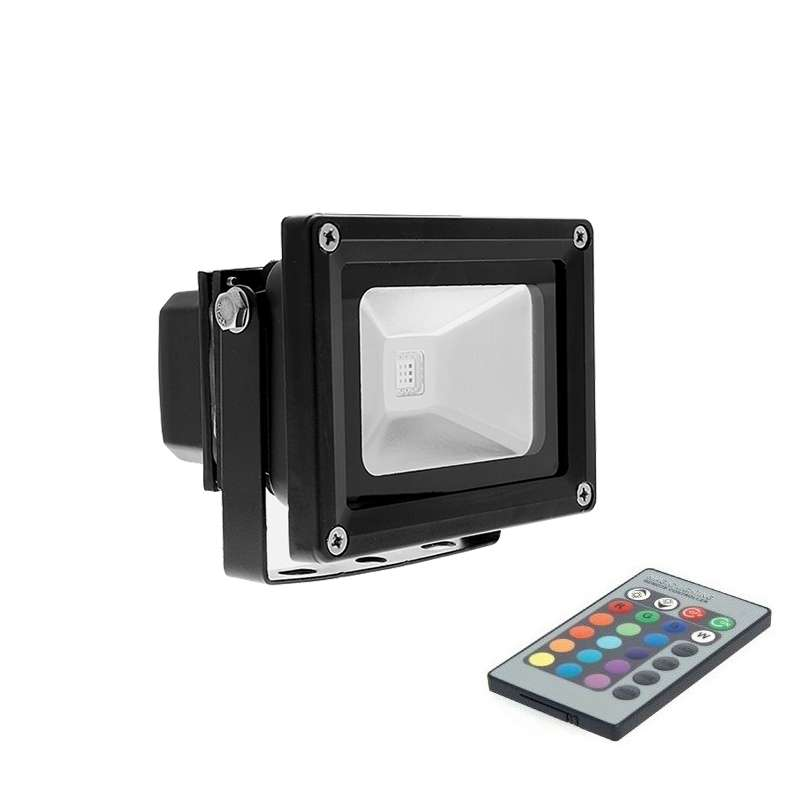 LED FLOODLIGHTS RECORD COB RGB