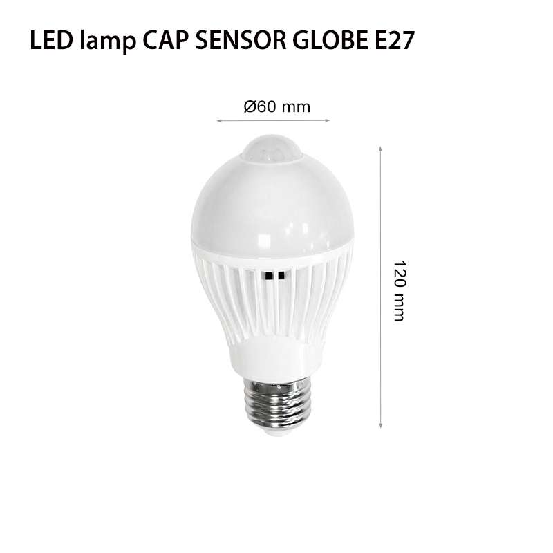 LED lamp CAP SENSOR GLOBE E27