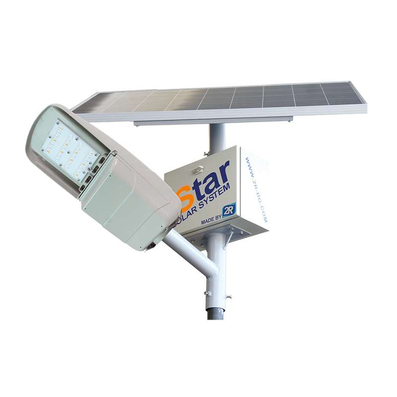LED SOLAR SYSTEM ISTAR PRO WITH POLE