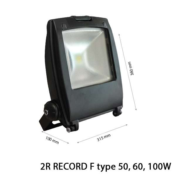 LED COB FLOODLIGHT RECORD F Type