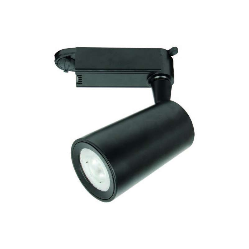 LED TRACK LIGHT METRO 24° WIRE BLACK