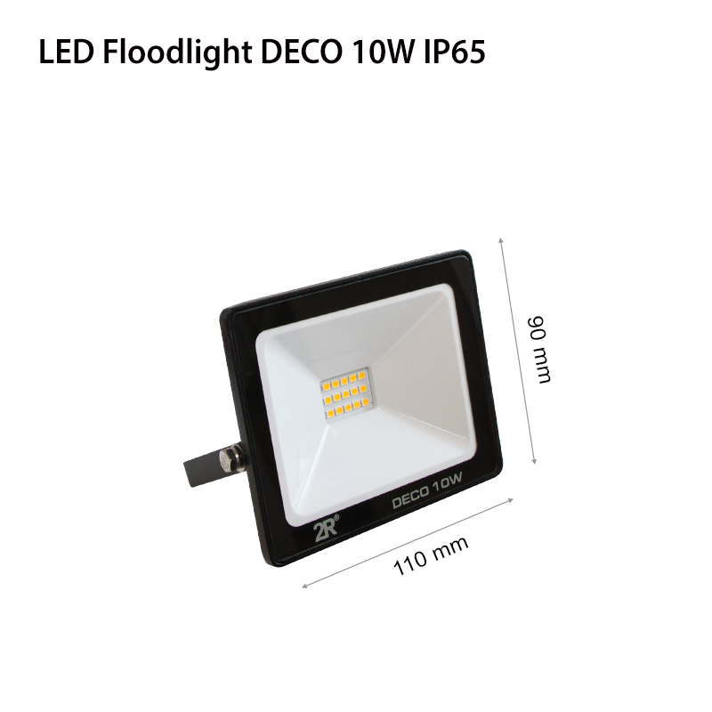 LED Floodlights RECORD DECO IP65 10w