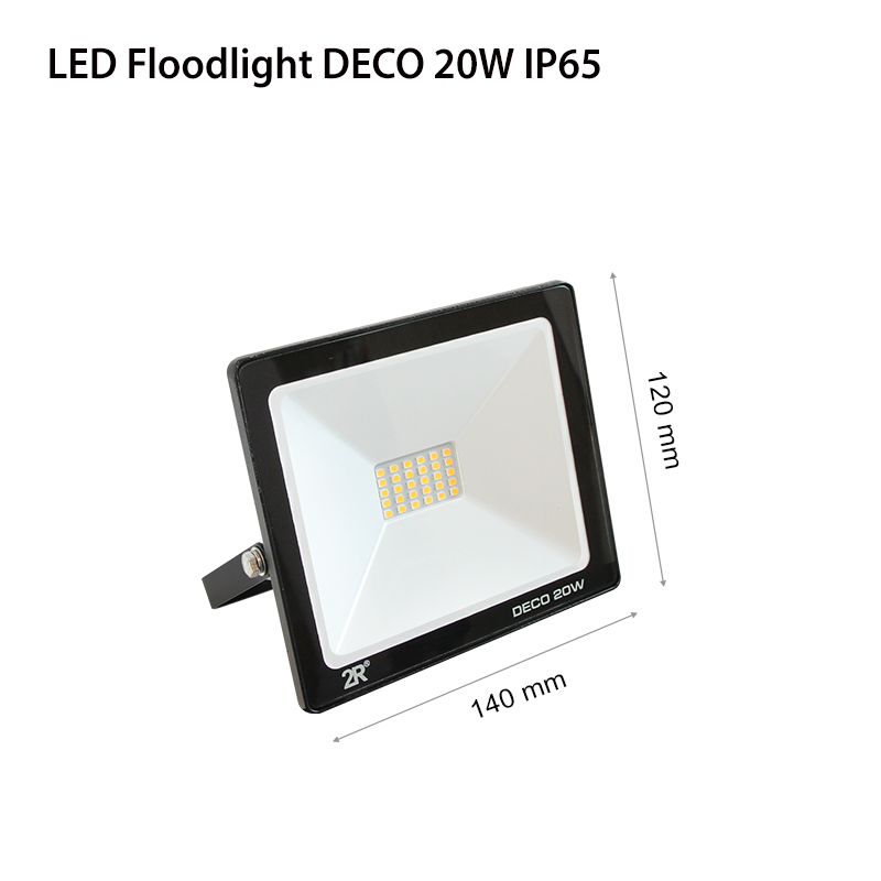 LED Floodlights RECORD DECO IP65 20w