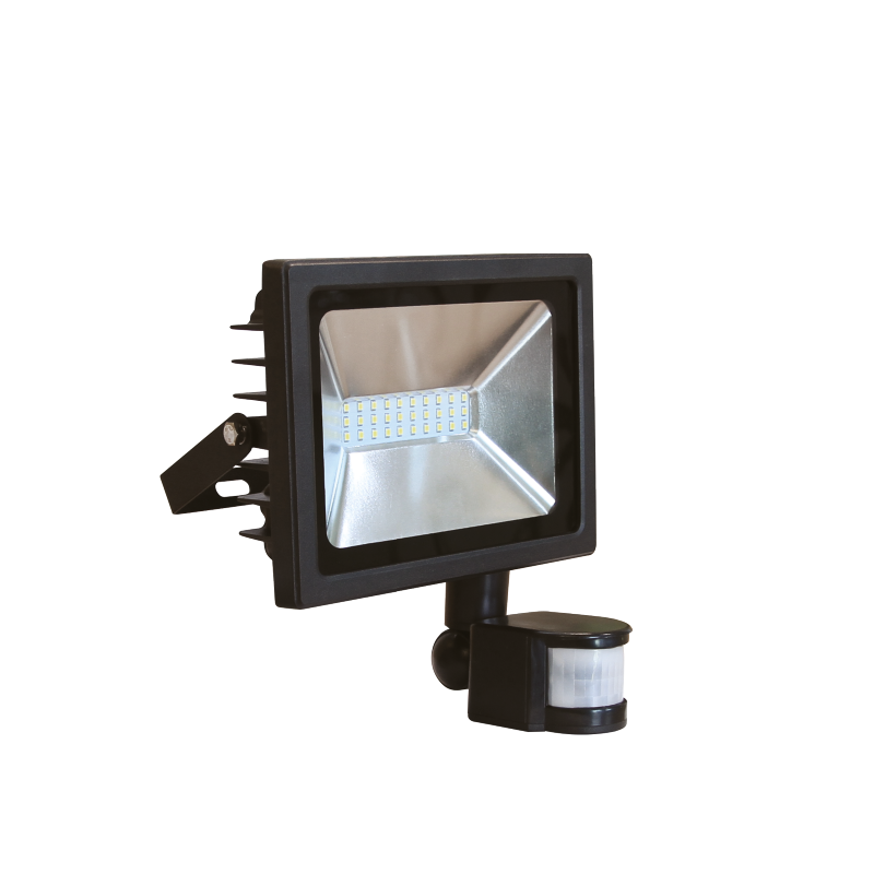 LED SMD FLOODLIGHT RECORD WITH SENSOR