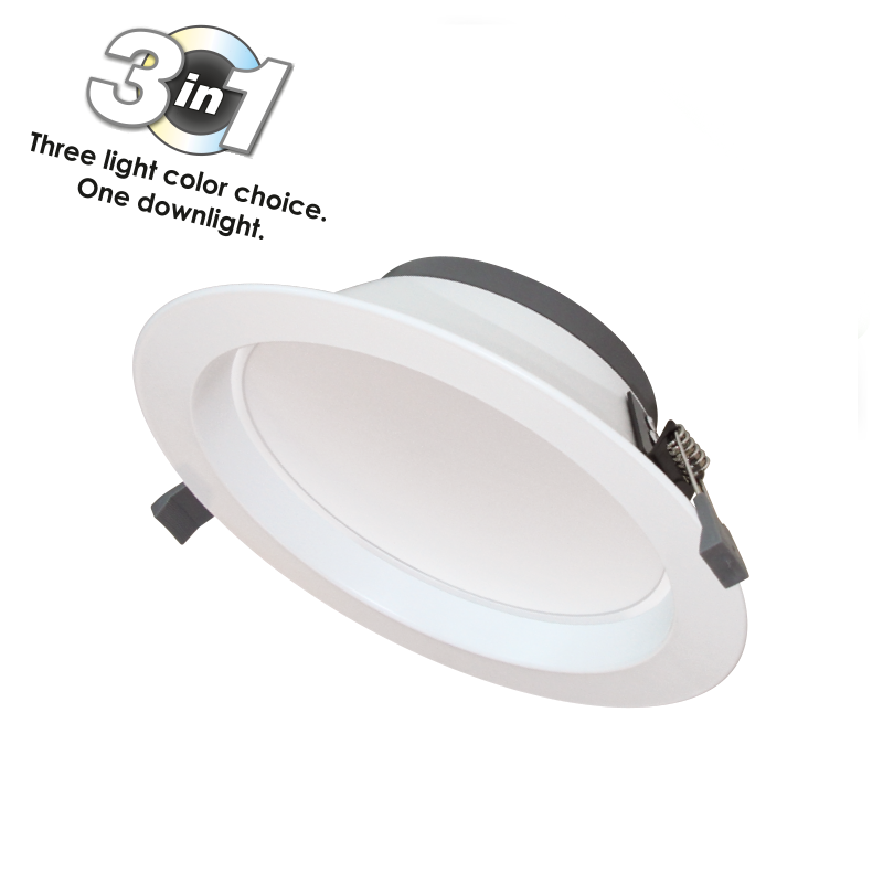 LED DOWNLIGHT CYCLONE 3-WHITE