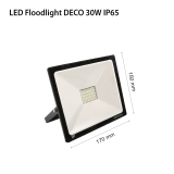 LED Floodlights RECORD DECO IP65 30w