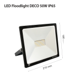 LED Floodlights RECORD DECO IP65 50w
